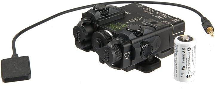 Laser designator and illuminetor per airsoft con remoto funzione torcia e laser  p&g peq 15a B00BWLGWGC