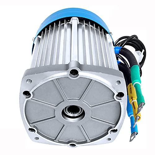 CHIXIA Motor Eléctrico Triciclo Sin Escobillas 60V 72V 1200w 2200w 3000W Alta Velocidad para Tres Eléctricos-cuatro-ruedas-72v2200w 4600rpm