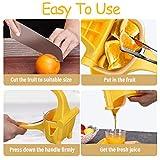 Jeteven Spremiagrumi Manuale Limone,Manuale Spremi, Spremiagrumi Frutta, Professionale Succo di Frutta Pressa Durevole giallo