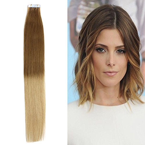 OFFer Yotty Super beauty product restock quality top Women's Remy Human Hair Tape D Straight in Extensions