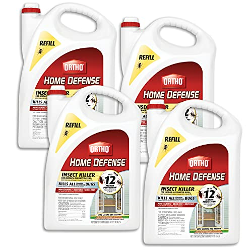Ortho Home Defense Insect Killer for Indoor & Perimeter Refill 2, 1.33 gal., 4-pack