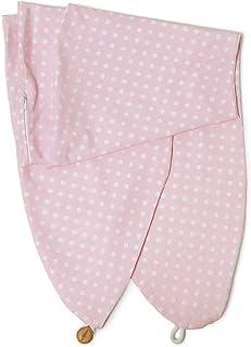 Niimo Funda Almohada Embarazo y Lactancia removible y lavabl 100% algodón por AlphaXXL (Rosa-Lunares Blancos)