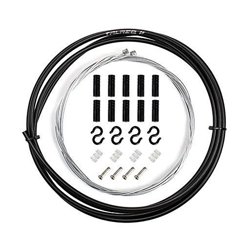 TRLREQ - Juego de revestimiento de cable de cambio para bicicleta universal para cambio Shimano Sram bicicleta MTB o carretera