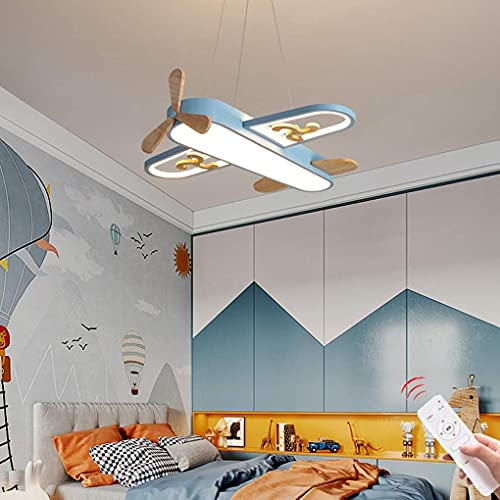 LED Cloud Deckenleuchte Kreative Deckenleuchte Moderne Cartoon Acryl Pendelleuchte Kinderzimmer Jungen Mädchen Schlafzimmer Lampe Wohnzimmer Büro Wandleuchte Hängelampen Dekoration Lampe (Blau, 60CM)