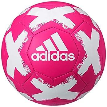 adidas Starlancer V Club Soccer Ball Shock Pink/White 4
