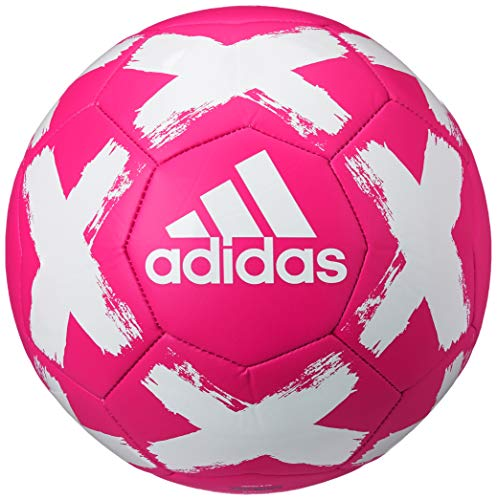 adidas unisex-adult Starlancer V Club Ball Shock Pink/White 4