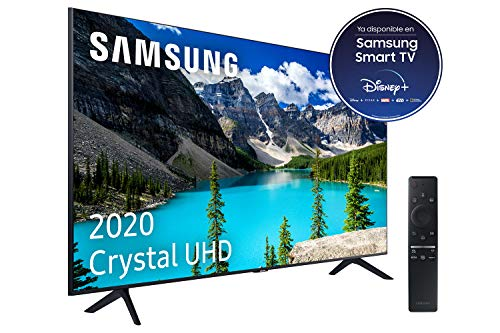 "Samsung Crystal UHD 2020 65TU8005 - Smart TV de 65"" con Resolución 4K, HDR 10+, Crystal Display, Procesador 4K, PurColor, Sonido Inteligente, One Remote Control y Asistentes de Voz Integrados"