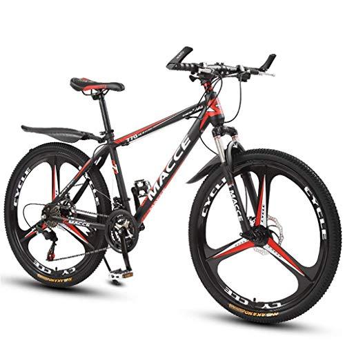 BOC Mountainbike Stoßdämpfer Fahrrad 26 Zoll Scheibenbremse 21 Geschwindigkeit 24 Geschwindigkeit 27 Geschwindigkeit Studentenauto Kinder Fahrrad Mountainbike, C, 21 Geschwindigkeit,B,27-Gang
