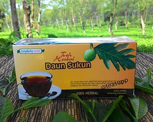 2 x 20 TeaBags Artocarpus Altilis Breadfruit Leaves Pure Herbal Halal Tea