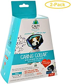 Calm Paws Caring Collar with Calming Gel Patch for Dogs Small - 1 Count - (Neck: 8