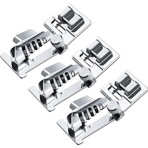 3 Piezas Prensatelas de Máquina de Coser Aglutinante de Costura Pies de Prensatelas de...