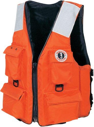 Mustang Survival Industrial PFD 4 Pocket Vest (3X/7XL)