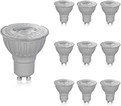 Megaman GU10 Reflector Non-Dimmable LED Lamp, 4.2 Watt, 2800K Colour Temperature, Warm White 10 Packs