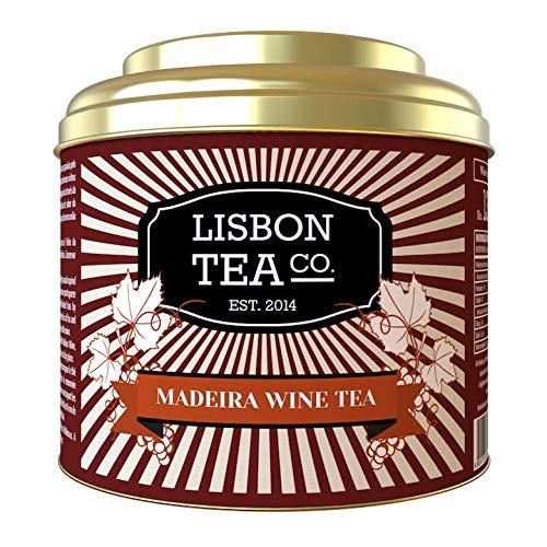 Lisbon Tea No. 13 Madeira Wein Tee | Aromatisierter Schwarzer Tee mit Madeirawein-Aroma, Johannisbeeren und Hibisblüten | Loser Infusionstee