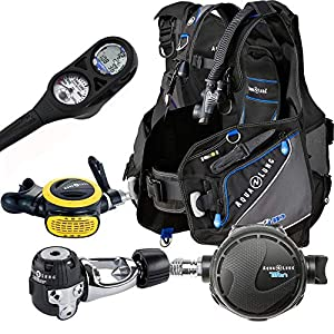 Aqua Lung Pro HD BCD i300C Dive Computer Titan Regulator Package