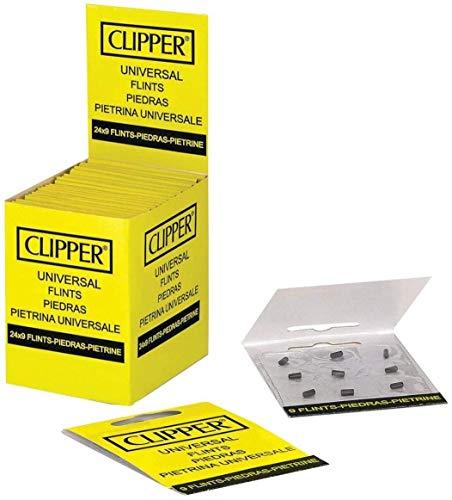 Clipper Feuersteine classic groß (24 Packungen X 9 Feuersteine)
