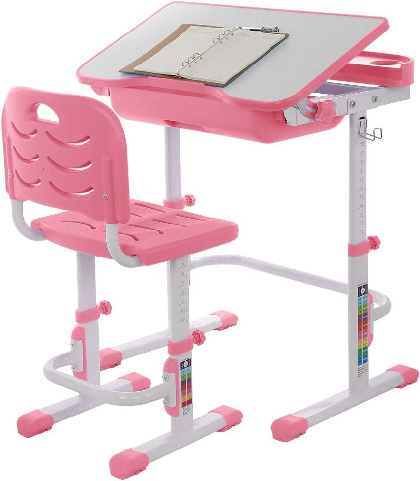 PUTEARDAT Small Max 55% OFF Desk with Drawers - Ki Boards Drawing Adjustable Super sale