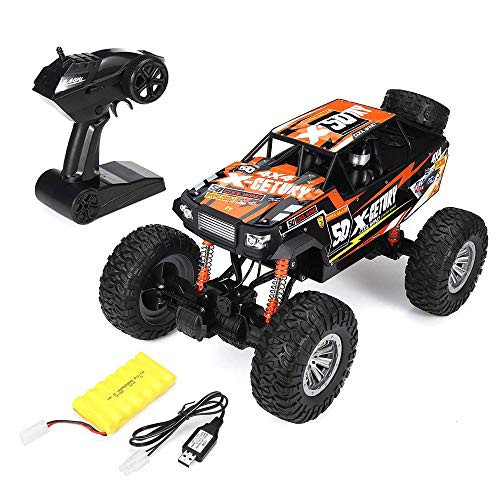 Tletiy 1/8 50cm RC CAR with HD Camera Wireless Climbing Off-Road Vehicle WiFi Camera Video Gravity Sensor Mobile Phone Control Toys Car Best for Kids