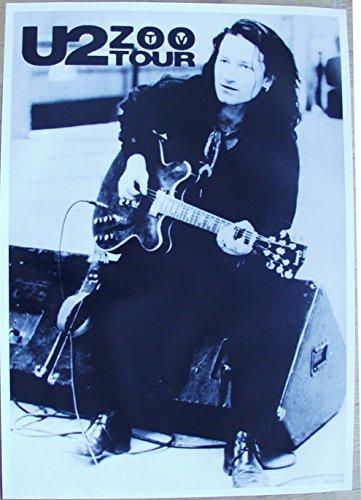 U2 Poster Nr. 4 Format 62 x 86 cm Original von 1993