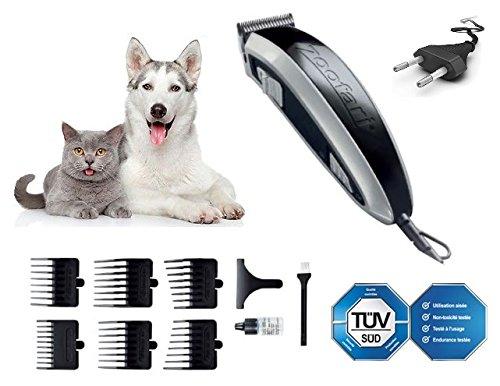 Tondeuse voor huisdieren, 36 V, voor honden en katten, met messen van koolstofstaal, voor sterk haar. NIEUW