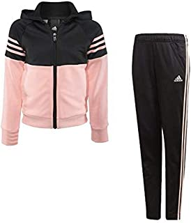 58a1e17901c54 adidas - Survêtement - Fille Multicolore Black/Haze Coral