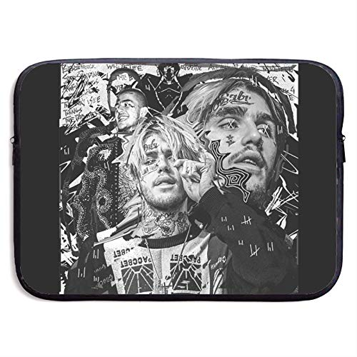 Lil-Peep Art Fashion Laptop Sleeve Bag 13/15 Inch Notebook Computer Water Repellent Polyester Protective Case