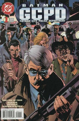 BATMAN GCPD # 1-4 complete story (BATMAN GCPD (1996 DC))