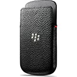 BlackBerry BB50704201 - Funda de piel para BlackBerry Q10, negro