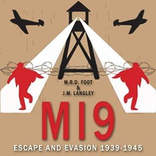 MI9 audiobook cover art
