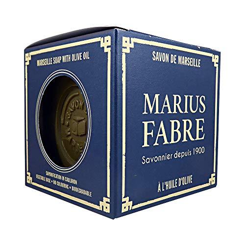 Marius Fabre - Savon de Marseille à l'huile d'olive - Cube 400 Gr Style Vintage