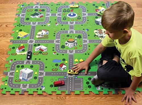 Schaumstoff Puzzle spielmatten (Fahrplan, Fahrplan)
