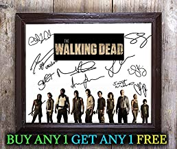 The Walking Dead Tv Show Cast Autographed Signed 8x10 Photo Reprint #29 Special Unique Gifts Ideas Him Her Best Friends Birthday Christmas Xmas Valentines Anniversary Fathers Mothers Day