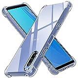 ivoler Klar Silikon Hülle für Sony Xperia 10 III mit