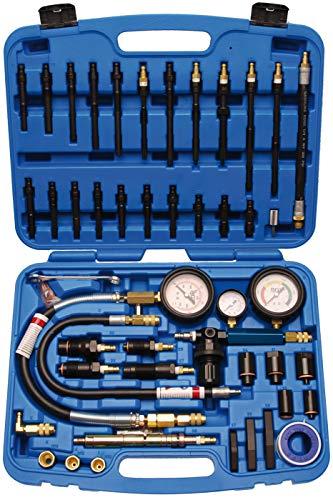 BGS 8401 | Kompressions- und Druckverlust-Test-Satz für Benzin- und Dieselmotoren | Messen | Prüfer | Verdichtung prüfen