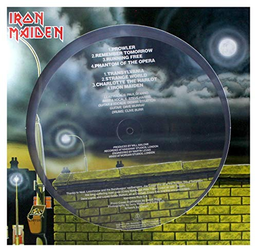 Iron Maiden (40Th Anniversary Picture Disc Vinyl Transparent Limited Edt.)