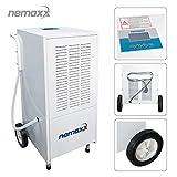 Nemaxx BT120 Deumidificatore professionale asciugatore (max. 120 l/g)