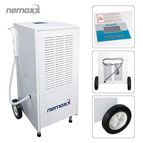 Nemaxx BT25 / BT55 / BT55X / BT80 / BT120 Bautrockner Kondenstrockner Luftentfeuchter Raumentfeuchter Entfeuchter Trockner (max. 25l - 120l/Tag), Modell:BT120 (120 Liter/Tag)