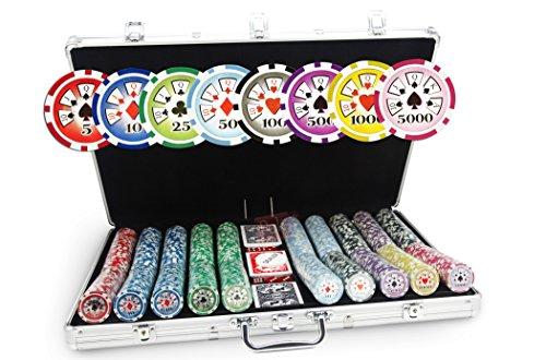 Valigetta Poker Poker Laser Deluxe 1000 fiches