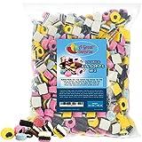 Licorice Candy - Licorice Allsorts Candy - Allsorts Licorice - English Licorice - Bulk Candy - 6.6 Pounds