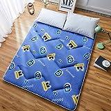J-Kissen Boden Tatami-Matte, Schlafmatratzenauflage Pad Folding Dicker, Futon-Matratze Kissen, Studentenwohnheim Schlafmatte (Color : J, Size : 0.9m Bed)
