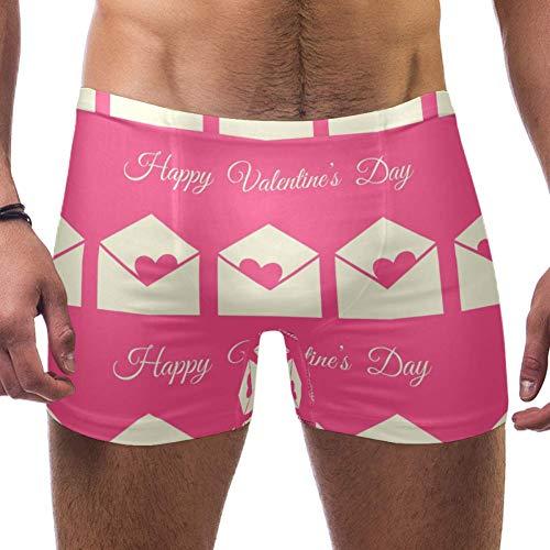 TIZORAX Zwembroek voor heren korte valentijn envelop vierkant been badpak ondergoed Jammer kort