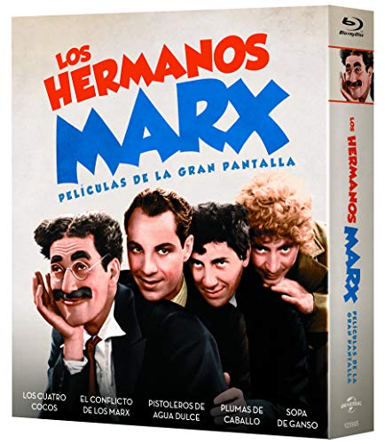 Pack: Hermanos Marx (5 películas BD) [Blu-ray]