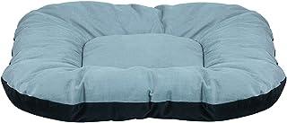 Mellifluous Dog and Cat Reversible Pet Bed (Medium, Grey-Black)
