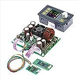 ARCELI Konstantspannungsstrom DC/DC-Abwärtskommunikation Stromversorgung Buck Spannungswandler LCD-Voltmeter 50 V 20 A (DPS5020 + USB + BT)