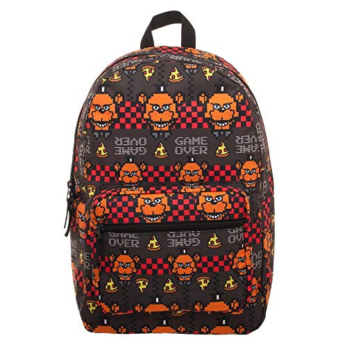 Five Nights at Freddys Backpack FNAF Game Over 16' Book Bag