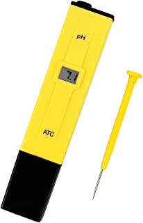 Medidor PH Pluma Portátil PH Tester Prueba Digital Multi Function Hidropónica para Acuario Piscina Industria de