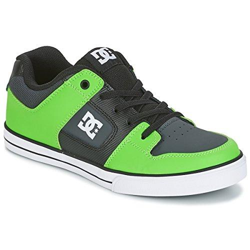 DC Shoes , Jungen Sneaker Grün/Grau/Weiß 38 EU (6.5 US / 5.5 UK) (Kids)