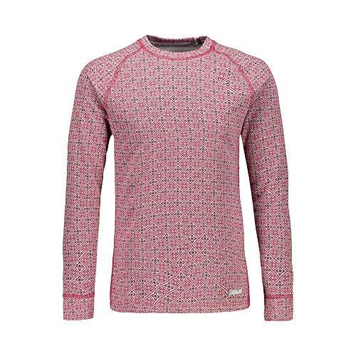 CMP Camiseta Interior de Lana Merina elástica para niña, 59zf, 176, carminio-Magenta