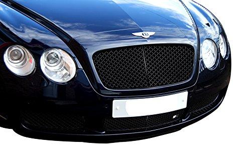 Zunsport Kompatibel mit Bentley Continental GT – unterer Grill, Grillsatz, schwarz (2003 bis 2007)