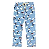 Disney Pixar's Up Men's 100% Cotton Sleep Drawstring Pajama Pants, Medium 32'-34'
